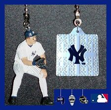 MLB NEW YORK YANKEES DON MATTINGLY FIGURE & HELMET/LOGO BASE CEILING FAN PULLS