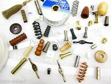 All Roman blind parts accessories spares Cord pull sewing fabric workroom bits