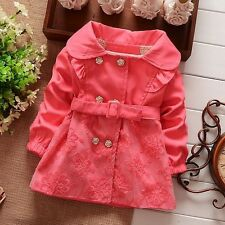 baby girls clothes girls overcoat autumn winter lace coat wind jacket outerwear