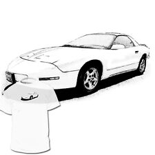 Pontiac Firebird 4th Gen Drawing T shirt -- Trans AM GTO Mustang Are Available