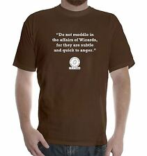 New Mens colors short sleeve cotton tshirt J. R. R. Tolkien Quote: Meddle