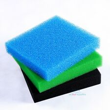 Reticulated Open Cell Foam Sponge Filter Media Aquarium Fish HMF Sump 11""