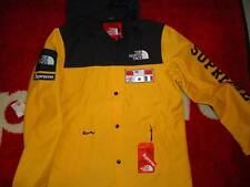 SUPREME 2014 S/S THE NORTH FACE TNF COACHES JACKET S-XL CDG BOX LOGO COAT YELLOW