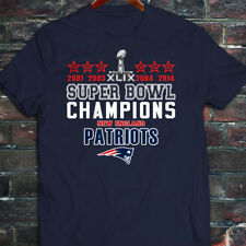 2014 2015 SUPER BOWL NEW ENGLAND PATRIOTS CHAMPIONS Mens Navy T-Shirt
