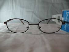 Foster Grant Spare Pair Burgundy Brown Reading Glasses +1.25 2.00 2.25 2.75