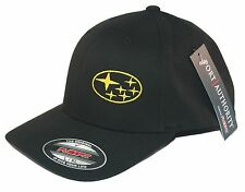 Subaru hat cap fitted flexfit curved bill wrx subie