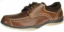 Mens Red Tape leather lace up Nutley casual trainer boat shoes UK 7 8 9 10 11 12