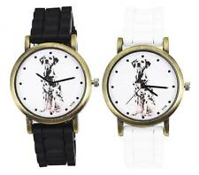 Dalmatian Spotted Hound Dog Men Women Animal Cheap Watch relojes hombre de mujer