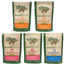 Greenies Feline SmartBites 2 Pack Assorted Flavors & Free Shipping