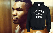 Iron Mike Tyson Boxing Sport Hood Hooded USA Brooklyn Jumper Unisex S-3XL New