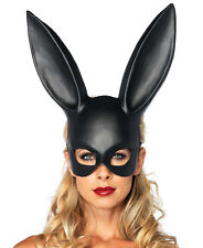 New Leg Avenue 2628 Black Bondage Rabbit Bunny Mask