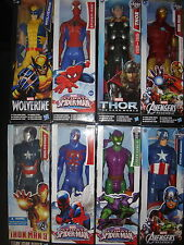 Captain America Iron Man Patriot SPIDER MAN THOR WOLVERINE TITAN HERO ULTRON