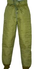 Czech Army Cold Weather Quilted Pant Liner ( Choice of Sizes ) Military #1454