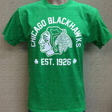 CHICAGO BLACKHAWKS EST. 1926 ST. PATRICK'S DAY GREEN T-SHIRT