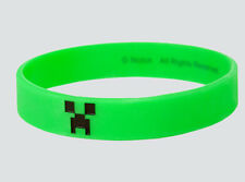 Minecraft Bracelet Creeper Officially Licensed Authentic Rubber
