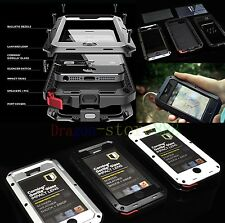 Aluminum ShockProof SnowProof Gorilla Glass Case Skin Cover for Cell Phones new