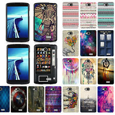 For LG Tribute LS660 / LG F60 Design Snap On Slim Fit Hard Phone Case Cover