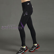 Santic Fleece Thermal Winter Bicycle Cycling 4D Padded Pants Tights Trouser 4018