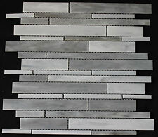 12x12-in Sea Shell Glass Mosaic Wall Tile