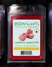 Eco Scents 100% Soy Squares, Burns Over 200 Hours, Wax Melts