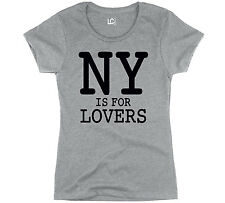 NY Is For Lovers NYC New York City Manhattan The Big Apple Novelty - Womens Top