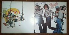 Chicago_Lot of 2 Vintage Vinyl LP's_Greatest Hits_Hot Streets