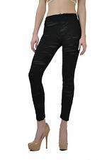 Black Disintegrated Torn Mad Max Zombie Goth Punk Anime Cosplay Pothole Leggings