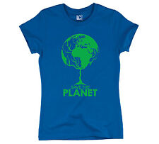 Save The Planet Earth Globe Tree Cool Earth Day Womens T-Shirt White