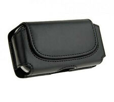 Black Belt Leather Skin Pouch Case Cover for HTC Mobile cell Phones 2015 new