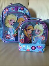 FROZEN ANNA ELSA SCHOOL LUNCH BAG BOX NEW WITH TAGS