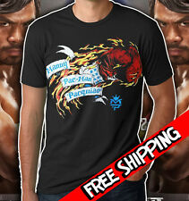 Manny Pacquiao Boxing Golves Logo T-Shirt PACMAN May2 Floyd Mayweather TMT MENS