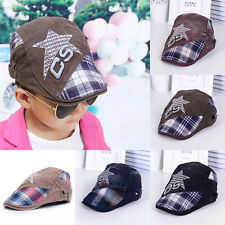 New Fashion Classic Star Baby Boy/Girl Children Kids Cool Hat Cap Beret Sun Hat