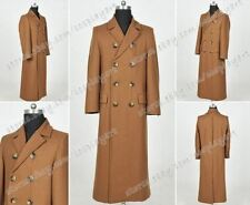 Who Cosplay Doctor Costume Dr 10th Tenth David Tennant Trench Coat Wool Overcoat