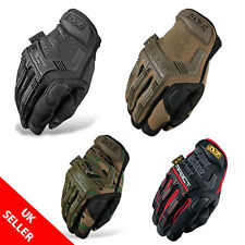 Mechanix Tactical M-PACT Gloves Black Brown Combat Military Airsoft