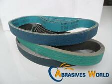 5pcs 915mm X 50mm ZA Sanding belts, 40, 60, 120 grit for all metals sanding