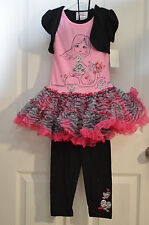 KnitWorks Girl's Clothing Set