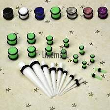 9 Piece Ear Taper Kit (ONE TAPER PER SIZE) +14 Piece Plug Kit WHOLESALE LM