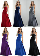 New Sexy Evening Prom Bridesmaid Dress Party Gown Stock Size 6 8 10 12 14 16