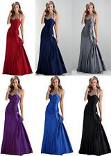 2018 New Sexy Bridesmaid Dress Party Gown Stock Size 6 8 10 12 14 16