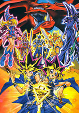 Yugioh Anime Giant Poster - A0 A1 A2 A3 A4 Sizes