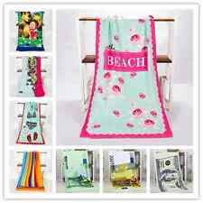 Large Microfibre Swimming Bath Beach Towel Sport Travel Camping Gym