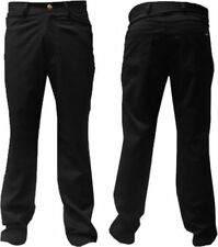 Mens Palvini Mens Jeans Style Trousers Black  All Sizes Available