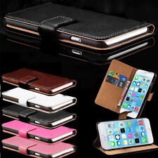 Magnetic Wallet Flip PU Leather Card Case Cover For Various Smart Cell Phone