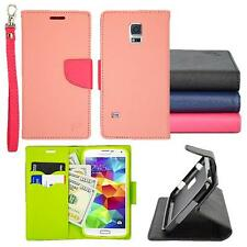 For Samsung Galaxy S5 Preimum Wallet Pouch Cover Case PU Leather Stand