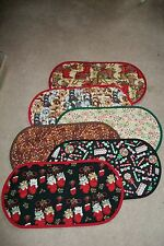 FREE SHIP UNIQ Handmade Table Runner Centerpiece Assorted Patterns Medium 12x24