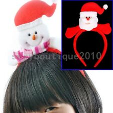 Santa Claus Head Band Children Adults Christmas Holiday Decorations Ornaments