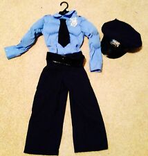 NEW POLICE OFFICER POLICEMAN MUSCLE HALLOWEEN COSTUME DRESS UP OUTFIT PICK 4 5 6