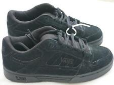 VANS Lowell BLACK Lace Up Skater skate Youth NEW Tie Suede NEW VN-0F5LBJ4