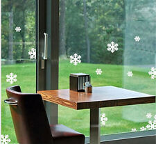 Christmas Snowflakes Window Sticker Wall Vinyl Decal Transfer Xmas Decorations