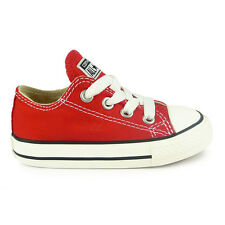 Infants Converse Chuck Taylor All Star Oxford Lo Red Trainers